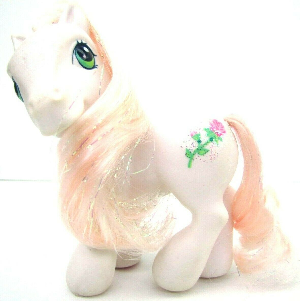 2004 My Little Pony Generation 3 Sparkle Pony DESERT ROSE Very NICE